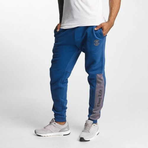 Thug Life / Sweat Pant Kurgan in blu