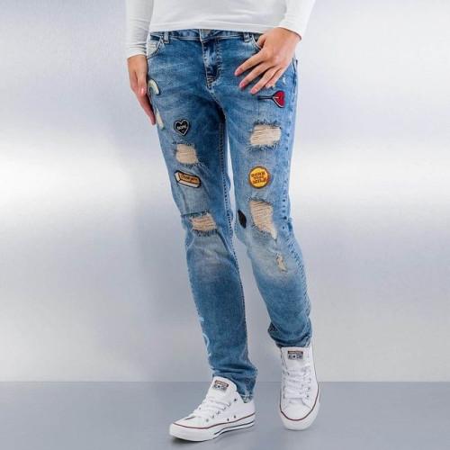 Just Rhyse Roslyn Boyfriend Jeans Blu