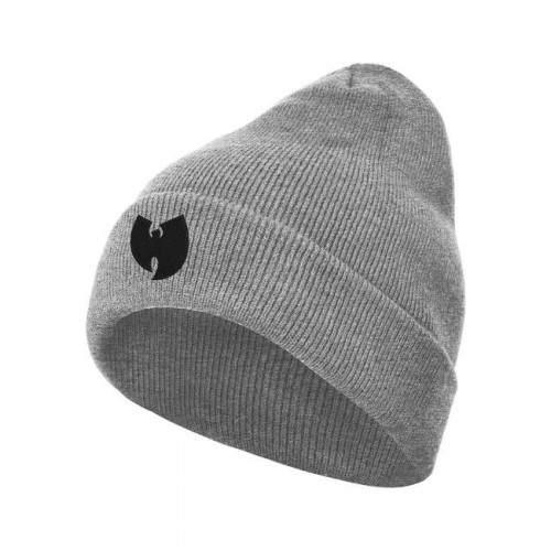 Wu-Wear Wu-Wear Logo Beanie heather gry