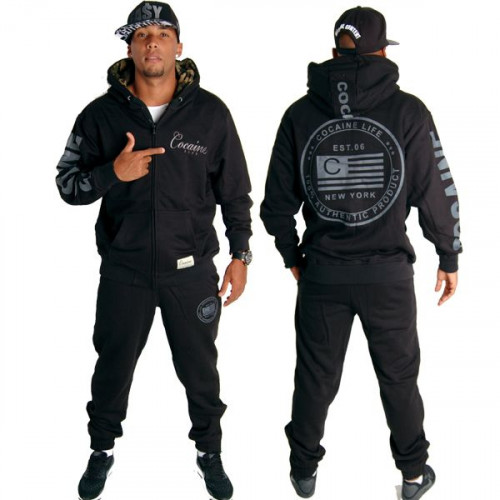 Cocaine Life Logo Camo Set Blk