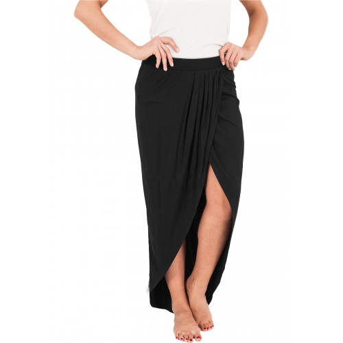 Urban Classics Ladies Long Viscon Skirt