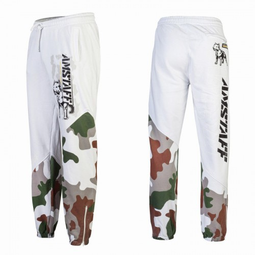 AMSTAFF ZEROTH SWEATPANTS - WHITE