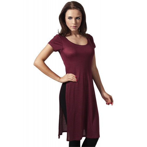 Urban Classics Ladies Side Slit Viscose Long Tee